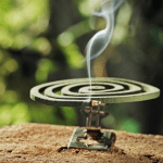 Stechmücken vertreiben mit der Mückenspirale